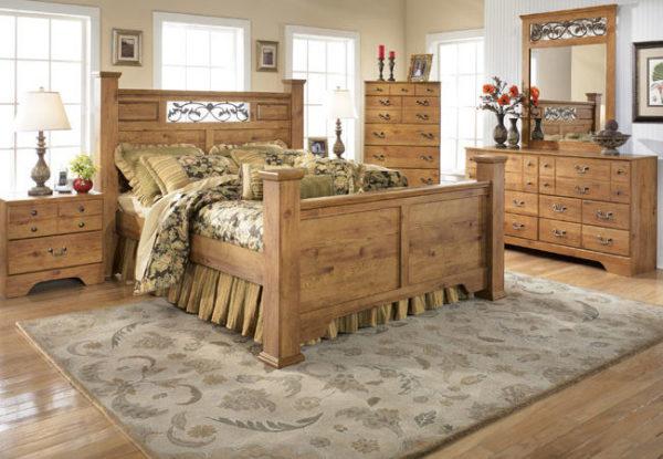 Организация комнаты новой мебелью
