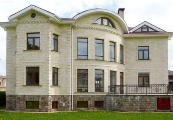 Дагестанский камень для фасада в Москве