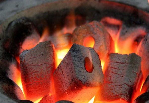 Твердотопливное отопление. Угольные брикеты для гриля в Москве
