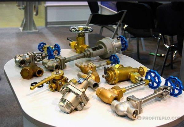 Трубопроводная арматура: клапаны, вентили