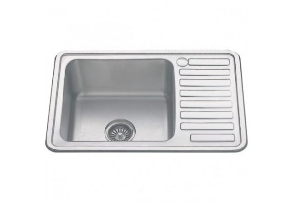 Обустройство ванной комнаты и кухни: монтаж мойки из нержавеющей стали