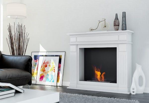 Электрокамин. Сделать комнату в 2 раза уютнее благодаря эффекту живого огня, который дает комфортное время провождение в кругу семьи