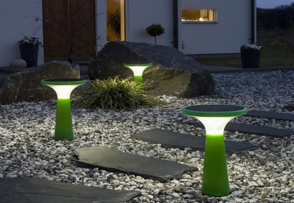 Как осветить фасад дома или улицу? Фонари уличного освещения