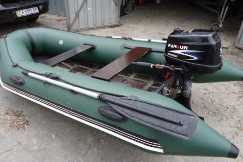 ПВХ лодки Барк под мотор